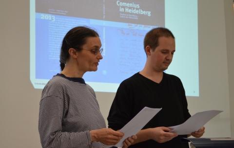 Kirsten-Heike Pistel und Sven Lehmann